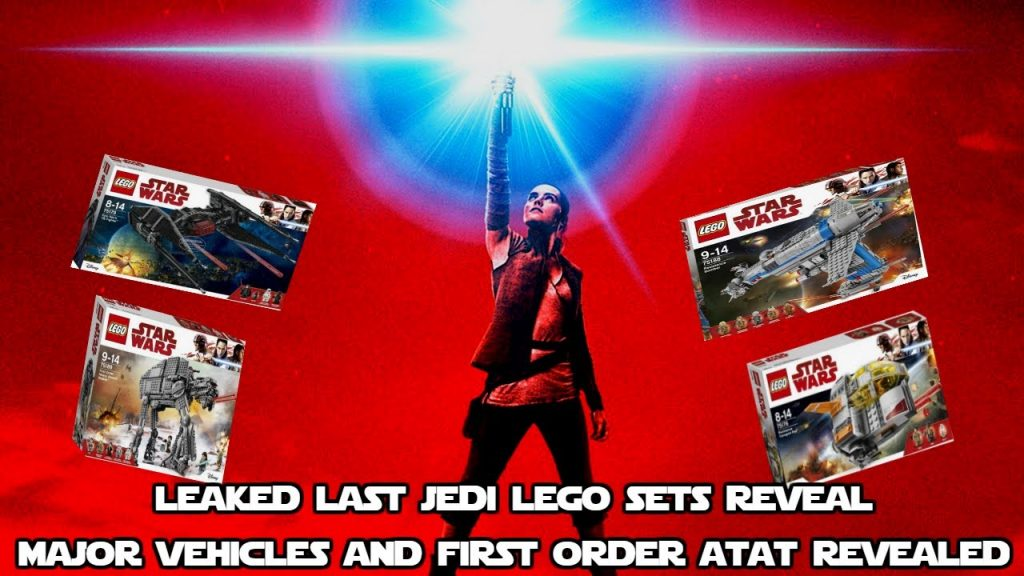 Last Jedi Leaked Lego sets reveal First Order Vehicles and New AT-AT name Revealed!