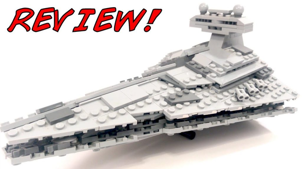 LEGO Star Wars MIDI-SCALE Imperial Star Destroyer 8099 Set Review!