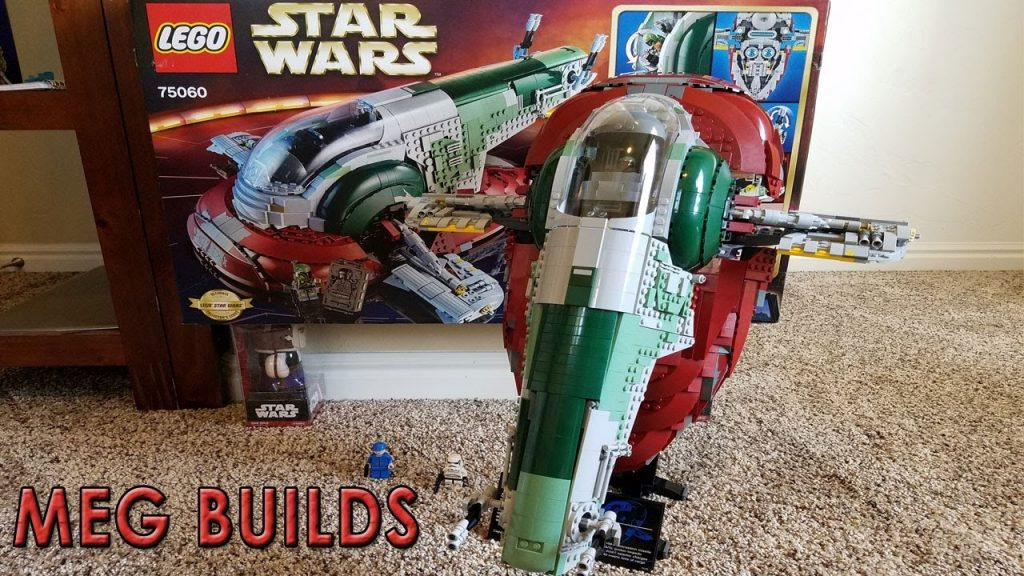 Meg Builds: LEGO STAR WARS – SLAVE I (Set 75060, complete)