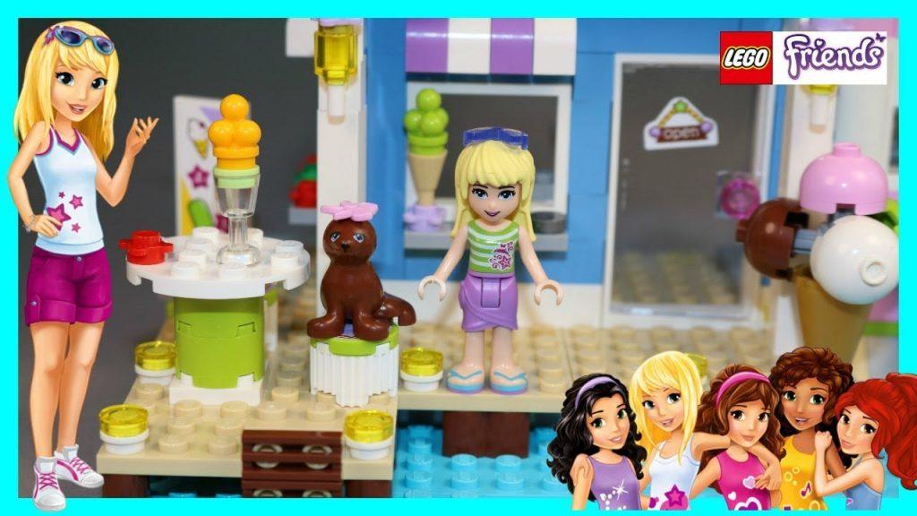 LEGO Friends – Heartlake Leuchtturm – DEMO – unboxing – aufbau