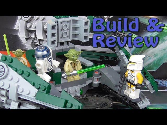 Lego Star Wars: Yoda's Jedi Starfighter 75168 Build & Review