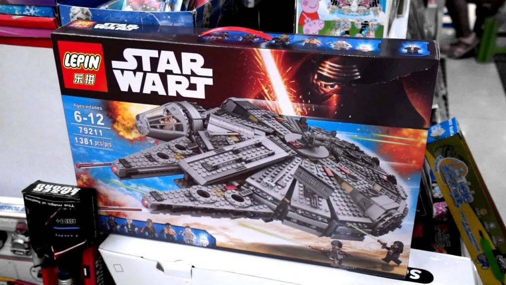 Soll das Lego Star Wars sein? China Fake Market Tour!