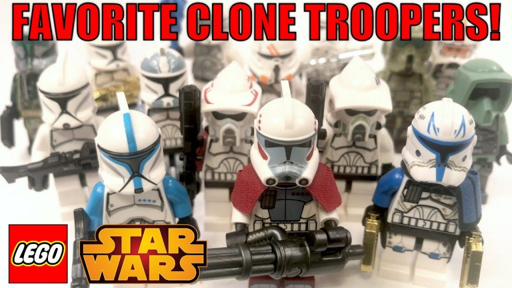 MandRproductions' FAVORITE LEGO Star Wars Clone Trooper Minifigures! (AWESOME LEGO Clone Troopers!)