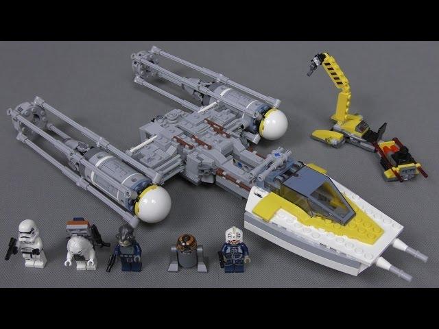 Recenzja LEGO Star Wars – Zestaw 75172 – Y-Wing Starfighter / Y Wing