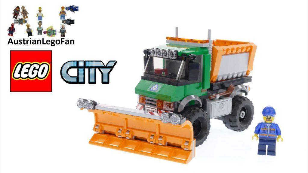 Lego City 60083 Snowplough Truck – Lego Speed Build Review