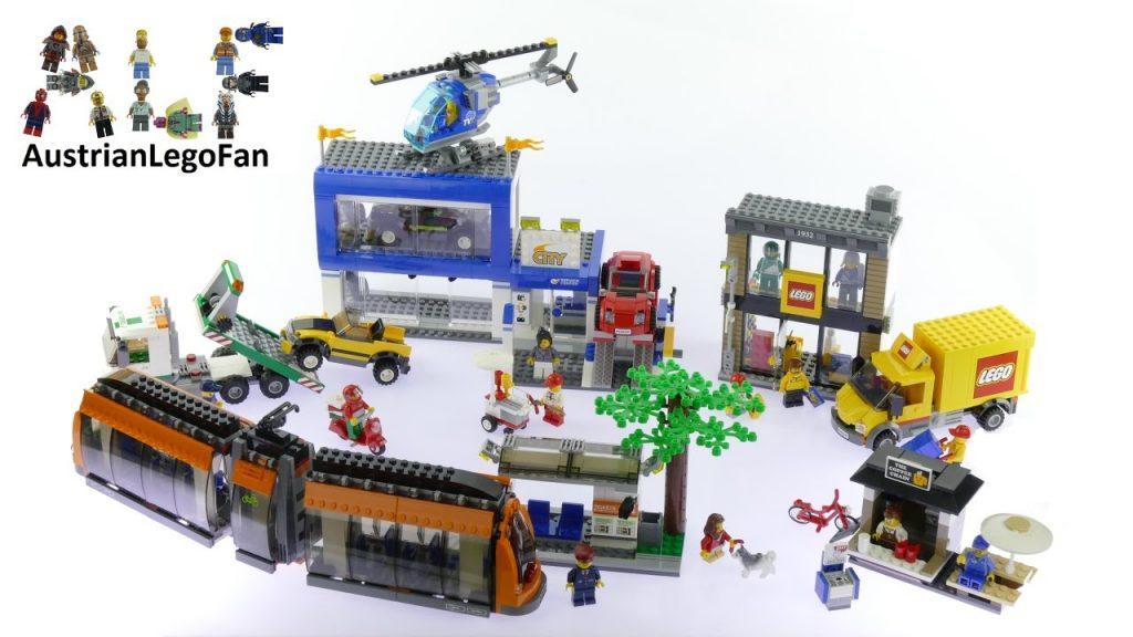 Lego City 60097 City Square – Lego Speed Build Review