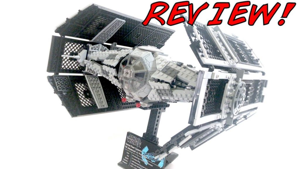 LEGO Star Wars UCS Darth Vader's Tie Advanced 10175 Review! 2006 Set!