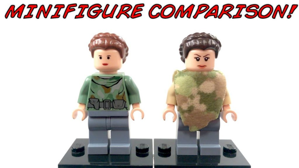 LEGO Star Wars ENDOR PRINCESS LEIA Minifigure Comparison!