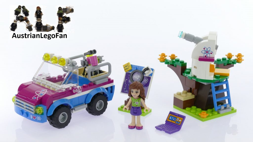 Lego Friends 41116 Olivia's Exploration Car – Lego Speed Build Review