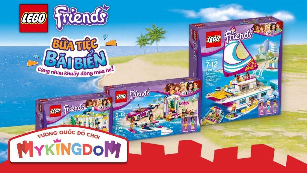 Đồ chơi lắp ráp LEGO FRIENDS – Bữa Tiệc Bãi Biển