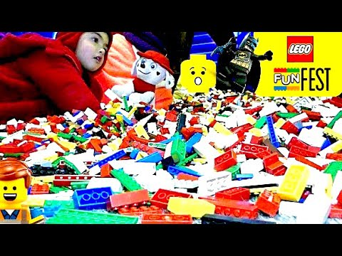 PISCINA DE LEGO!! LEGO FUN FEST CHILE – BATMAN LEGO, LEGO FRIENDS, NINJA GO, CARS…