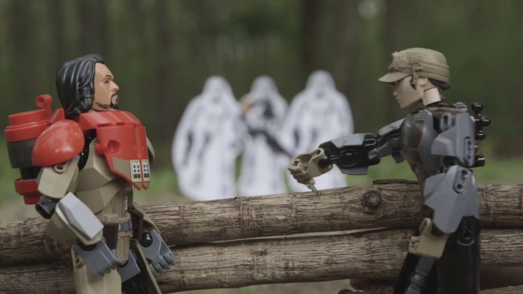 Target Practice – LEGO Star Wars – Rogue One Buildable Figures Mini Movie
