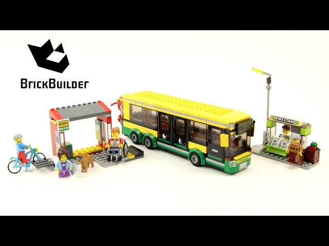 Lego City 60154 Bus Station – Lego Speed Build