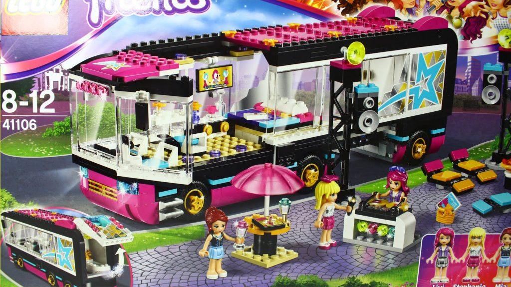 Pop Star Tour Bus / Wóz Koncertowy Gwiazdy Pop – Lego Friends – 41106 – MegaDyskont.pl