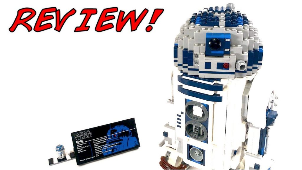 LEGO Star Wars 10225 UCS R2-D2 Review! 2012 Set!