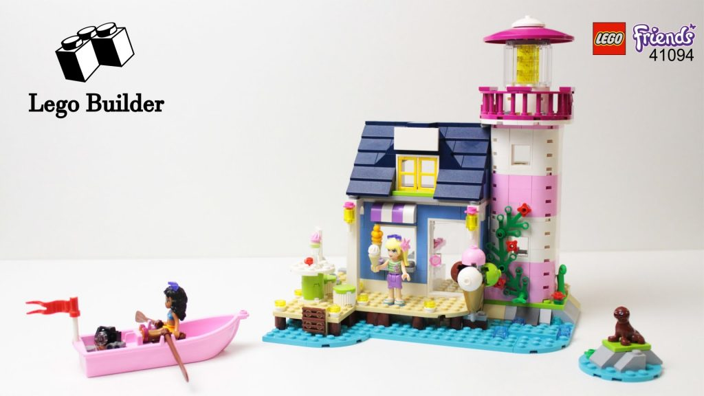 LEGO Friends 41094 Heartlake Lighthouse – Lego Speed build