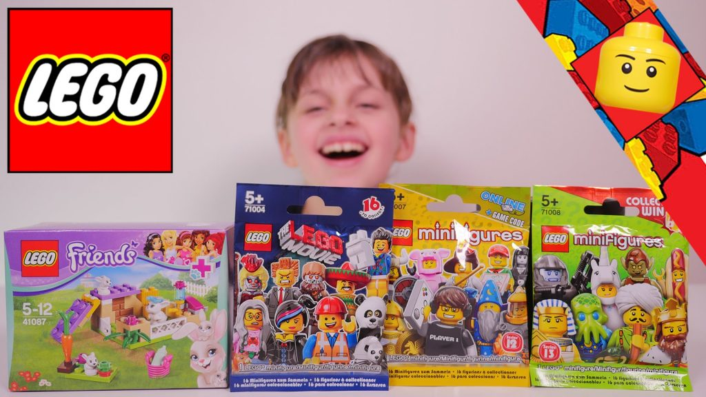[LEGO] Minifigures S12, S13, Lego Movie et Lego Friends Lapin – Studio Bubble Tea unboxing