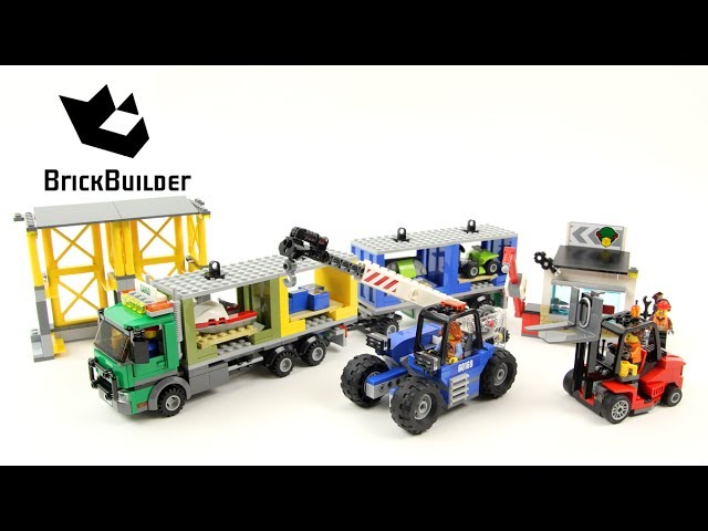 Lego City 60169 Cargo Terminal – Lego Speed Build