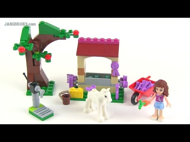 LEGO Friends Olivia's Newborn Foal set 41003 review!