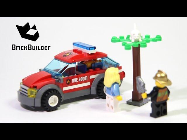 Lego City 60001 Fire Chief Car – Lego Speed Build