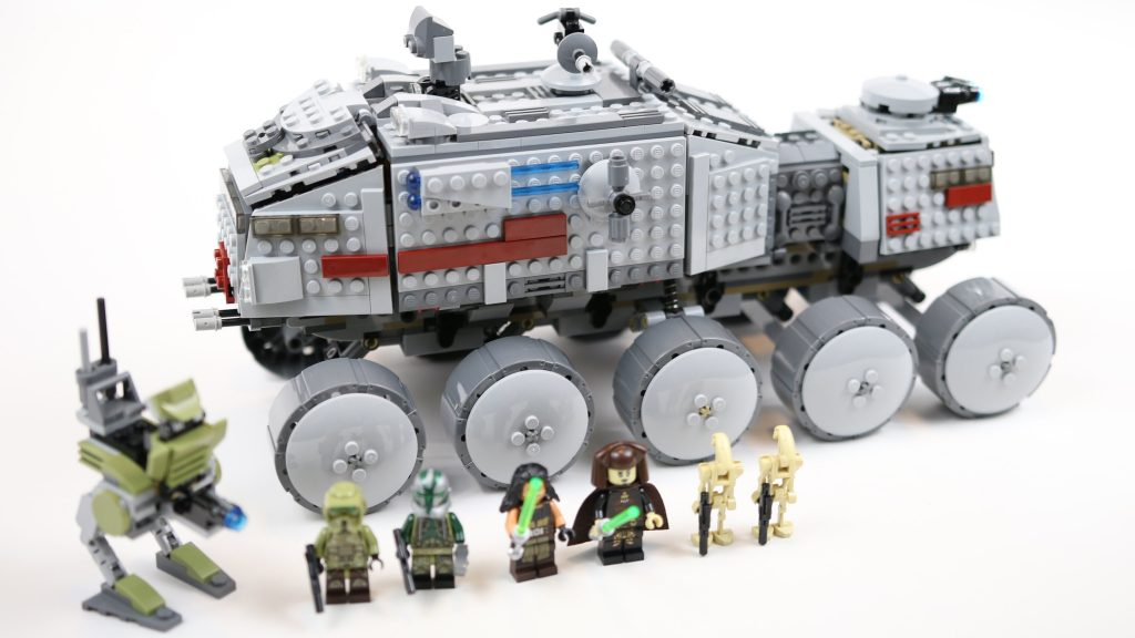 LEGO Star Wars Clone Turbo Tank (Timelapse & Review) – Set 75151