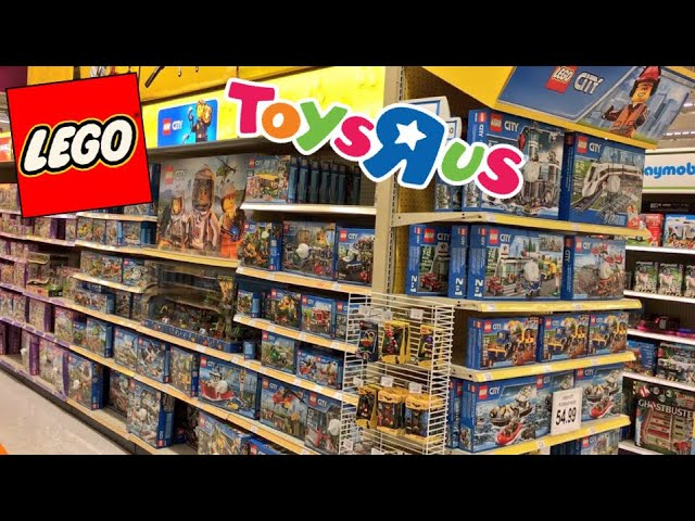 CRAZIEST LEGO TOY SHOPPING ADVENTURE EVER AT TOYSRUS!