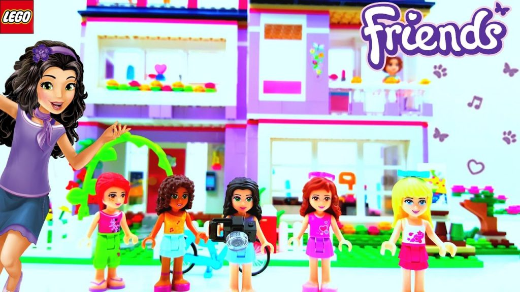 Lego Friends Emma's House Building Review 41095