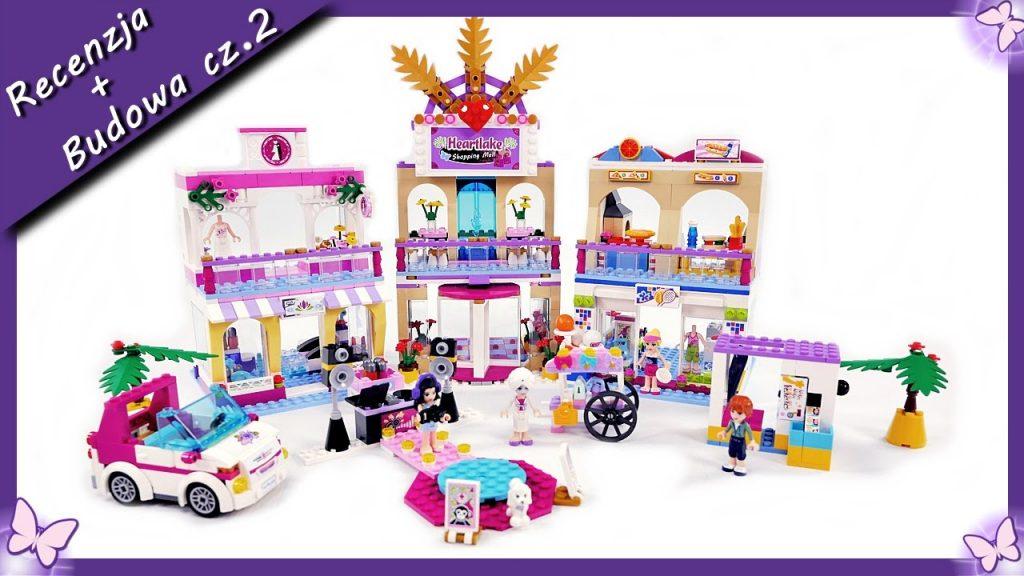 Centrum handlowe w Heartlake cz.2 – Budowanie klocków Lego Friends 41058