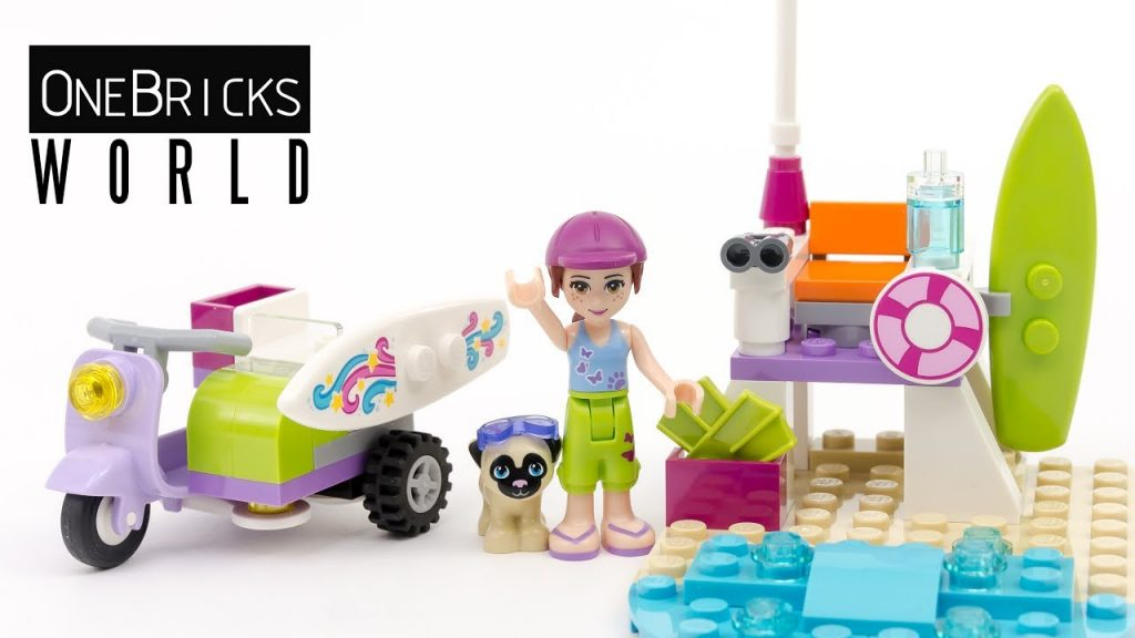 Lego Friends 41306 Mia's Beach Scooter – Lego Speed Build Video