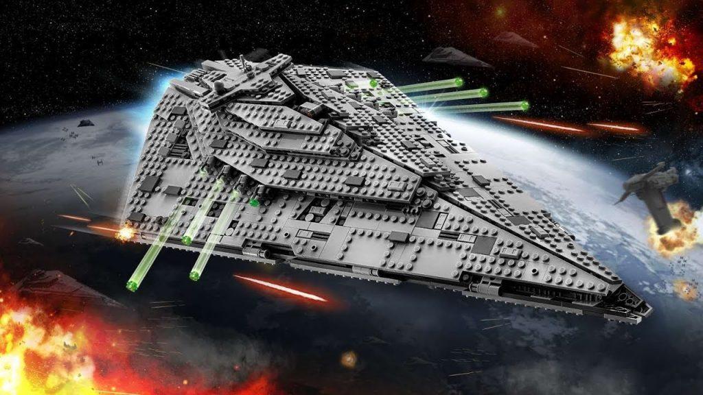 Lego Star Wars First Order Star Destroyer 75190 Pre-Release Closer Look