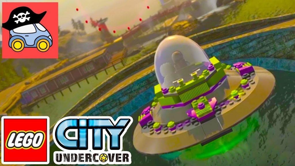 🚓 Lego City Undercover #25 СЕКРЕТНАЯ БАЗА в Лего Сити ГТА Прохождение игры Жестянка