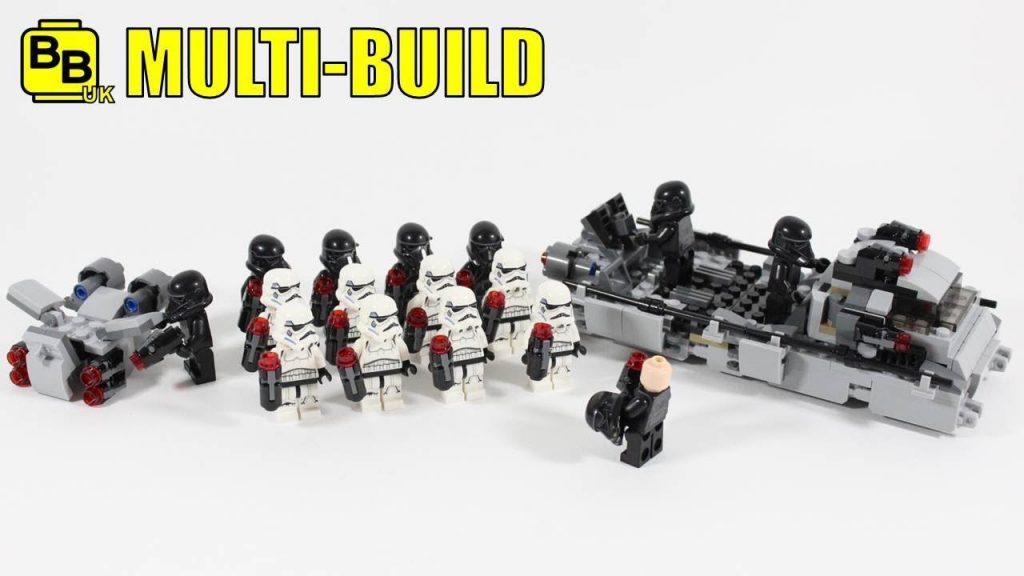LEGO STAR WARS 75165 X4 MULTI-BUILD ARMOURED TRANSPORTER