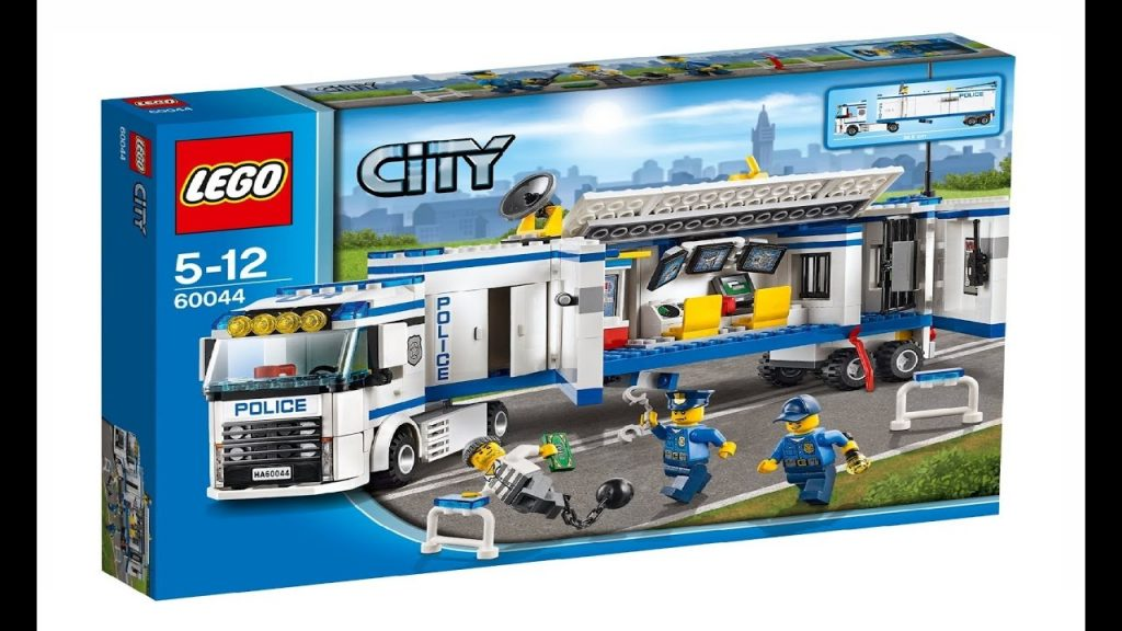 Lego City 60044 Mobile Police Unit – Lego Speed Build