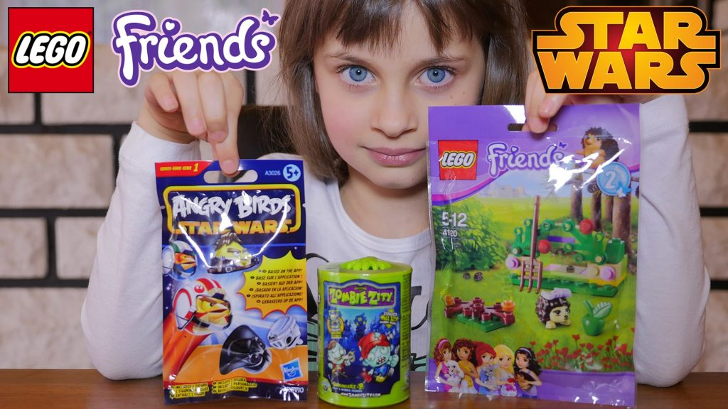 [JOUET] Angry Birds Stars Wars, Zombie Zity, Lego Friends – Unboxing Angry Birds & Lego Friends