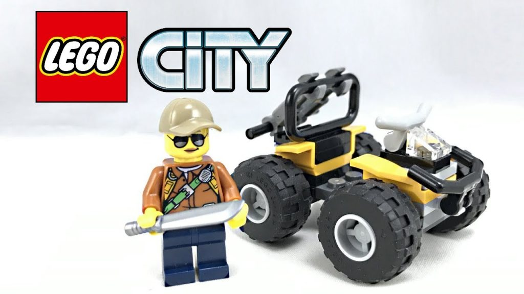 LEGO City Jungle 4×4 review! 2017 polybag 30355!