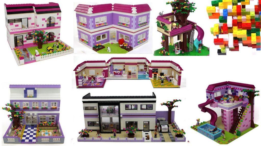 Lego Friends Best Houses 2 by Misty Brick.