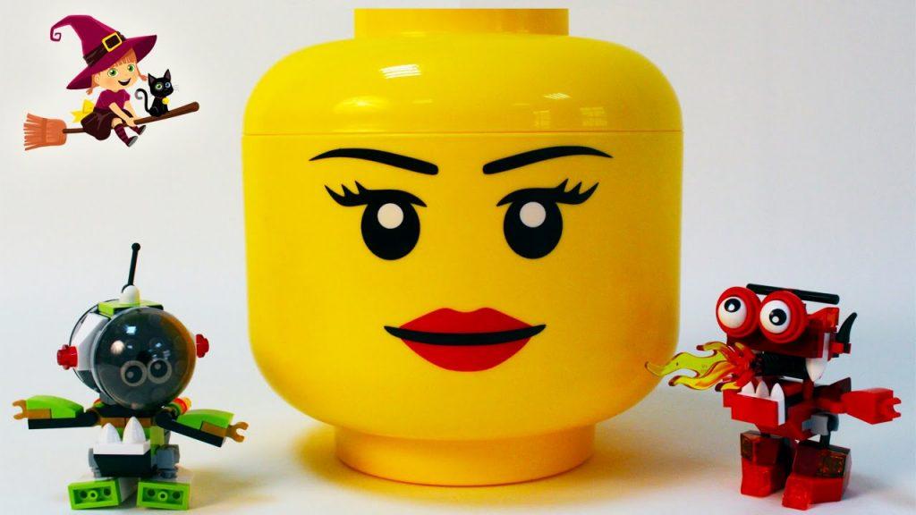 Pieza Gigante de Lego Sobres Lego Mixels de Construcciones