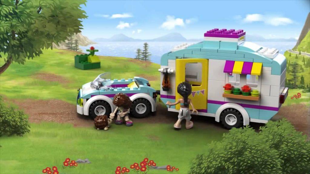 Mô Hình Lắp Ghép Xe Cắm Trại Mùa Hè LEGO FRIENDS 41034