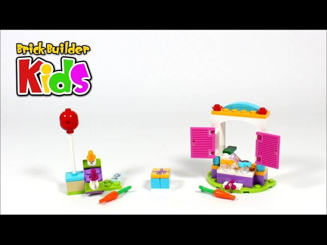 Lego Friends 41113 Party Gift Shop – Lego Speed Build for Kids