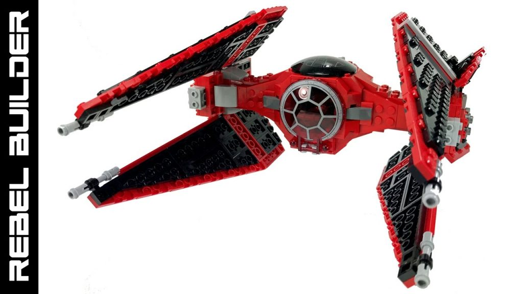 LEGO Star Wars Royal Guard TIE Interceptor MOC!