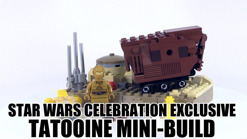 LEGO Star Wars Celebration Tatooine Mini-Build Review