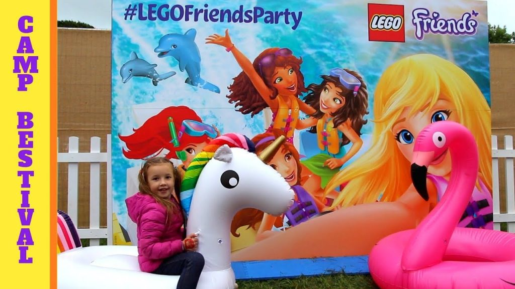 Camp Bestival 2017 / Lego Friends Friendship Party