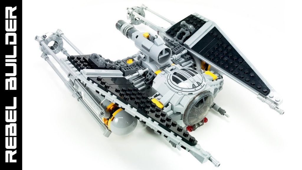 "LEGO Star Wars ""Ugly"" Starfighter TIE Wing MOC!"