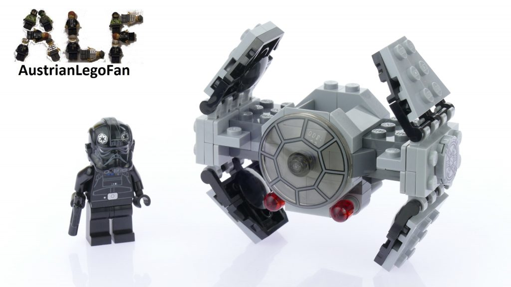 Lego Star Wars 75128 TIE Advanced Prototype™ – Lego Speed Build Review