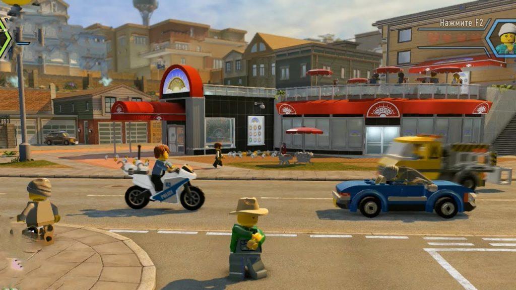 ПОЛИЦЕЙСКАЯ ЛЕГО ПОГОНЯ | LEGO CITY UNDERCOVER