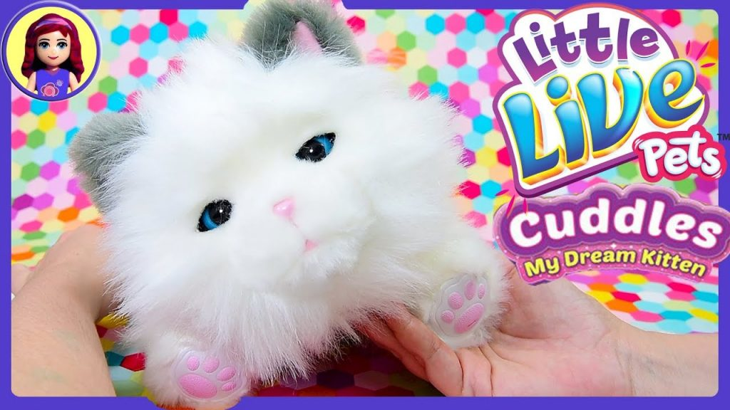 My Dream Kitten Cuddles Little Live Pets Review New Pet Adoption Kids Toys