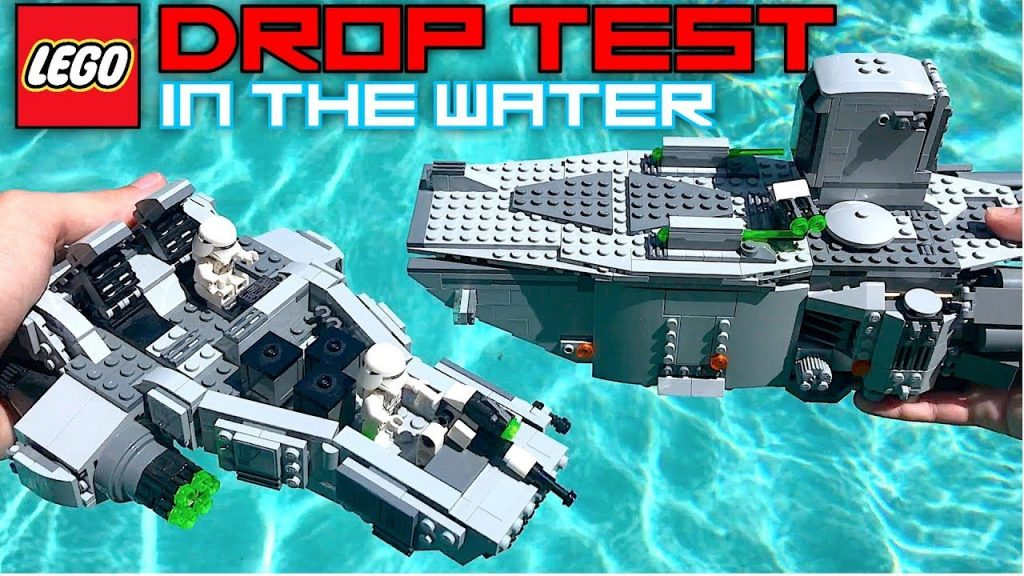 DROP TESTING LEGO Sets In The POOL! | COOL LEGO Sets DESTROYED! |