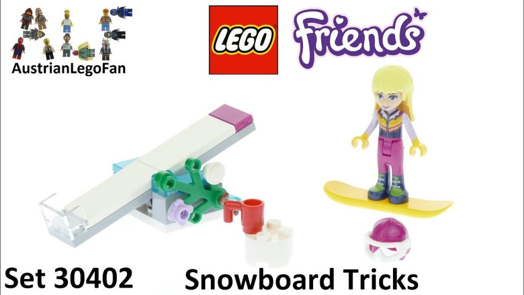 Lego Friends 30402 Snowboard Tricks – Lego Speed Build Review