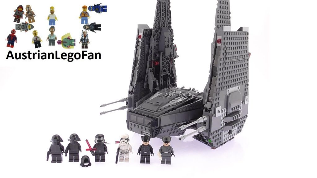 Lego Star Wars 75104 Kylo Ren´s Command Shuttle – Lego Speed Build Review