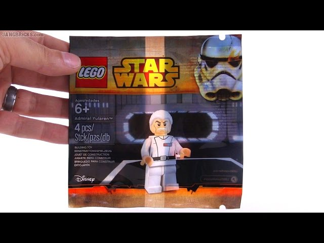 LEGO Star Wars May the 4th Admiral Yularen opened!